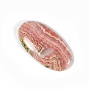 Natural Rhodochrosite 28x14mm Oval Cabochon 17.05 Cts