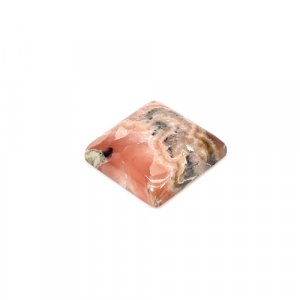 Natural Rhodochrosite Square Cabochon 17x17mm 24.90 Cts Loose Gemstone