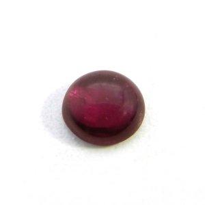 Natural Rhodonite Garnet 6mm Round Cabochon 1.10 Cts