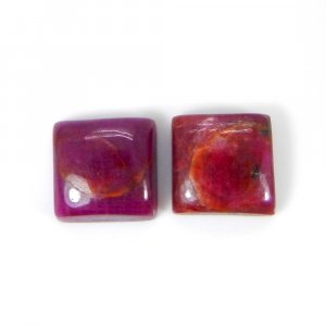 Natural Ruby 11x11mm Square Cabochon 10.45 Cts