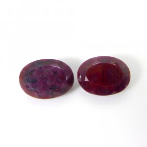 Natural Ruby 12x10mm Octagon Cabochon 6.70 Cts