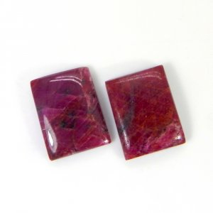 Natural Ruby 16x12mm Rectangle Cabochon 10.70 Cts
