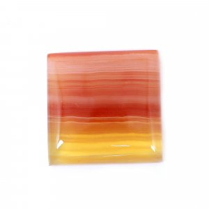 Natural Sard Red Onyx 18x18mm Square Cabochon 15.80 Cts