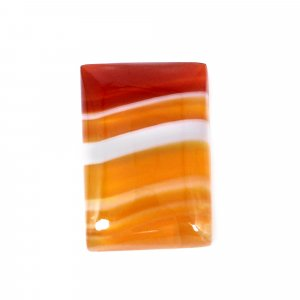 Natural Sard Red Onyx 20x13mm Rectangle Cabochon 12.25 Cts