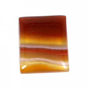 Natural Sard Red Onyx 20x16mm Rectangle Cabochon 14.35 Cts