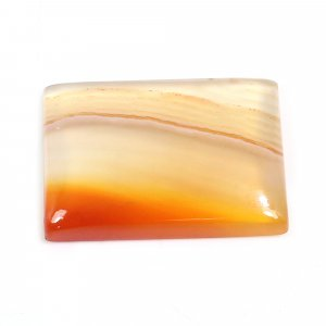 Natural Sard Red Onyx 21x14mm Rectangle Cabochon 14.45 Cts