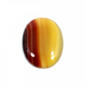 Natural Sard Red Onyx 22x17mm Oval Cabochon 13.55 Cts