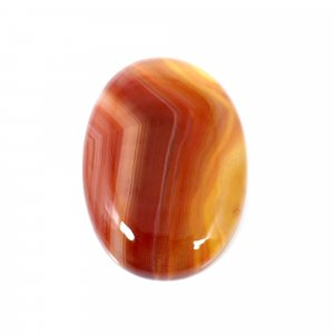 Natural Sard Red Onyx 25x18mm Oval Cabochon 17.60 Cts