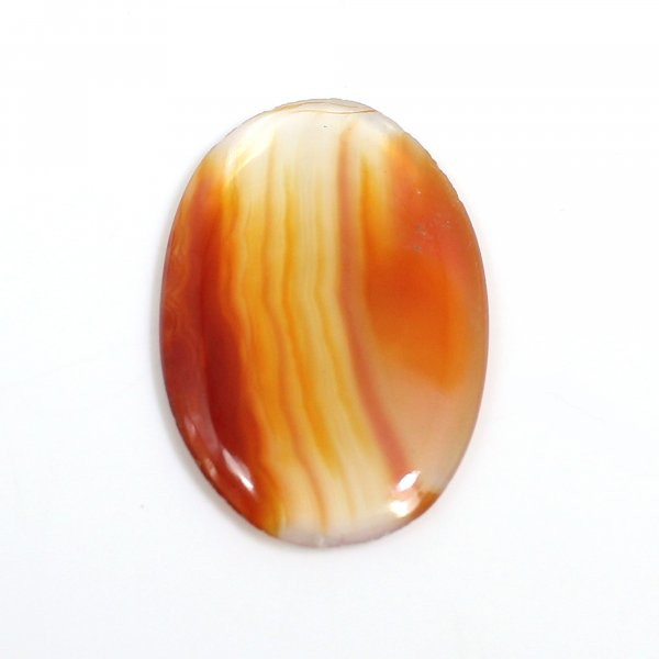 Natural Sard Red Onyx 28x19mm Oval Cabochon 11.95 Cts