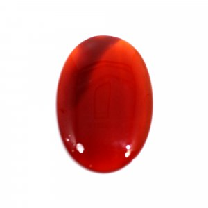 Natural Sard Red Onyx 29x19mm Oval Cabochon 16.60 Cts