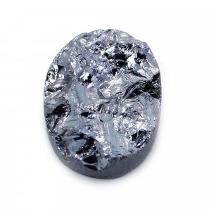 Natural Silicon 12x8mm Oval Rough 3.80 Cts