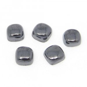 Natural Silicon 7x7mm Cushion Cabochon 2.8 Cts