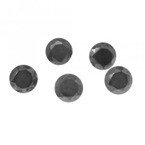Natural Silicon 8mm Round Cut 3.36 Cts