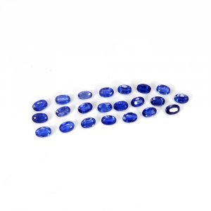 Natural Small Kyanite Gemstone 6x4mm Oval Faceted Cut 0.85 Cts