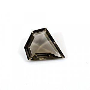 Natural Smoky Quartz 11.40 Cts Fancy Cut 20x18mm Loose Gemstone