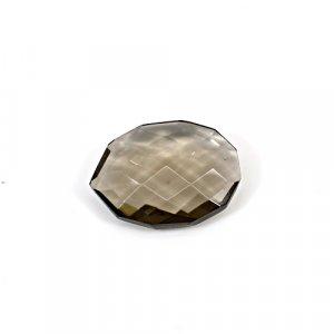 Natural Smoky Quartz 16.05 Cts Fancy Briolette Cut 22x17mm Loose Gemstone