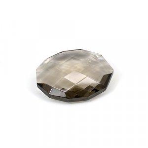 Natural Smoky Quartz 16.20 Cts Fancy Briolette Cut 22x17mm Loose Gemstone