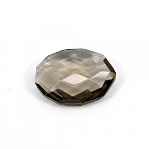 Natural Smoky Quartz 17.10 Cts Fancy Briolette Cut 22x17mm Loose Gemstone