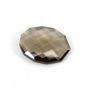 Natural Smoky Quartz 22x17mm Oval Briolette Cut 16.95 Cts Loose Gemstone