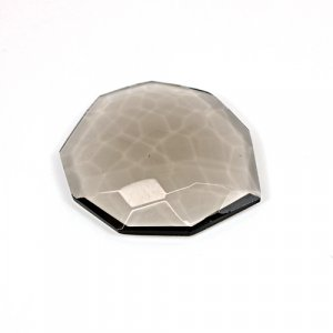 Natural Smoky Quartz 32.15 Cts Fancy Football Cut 33x29mm Loose Gemstone