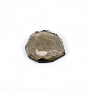 Natural Smoky Quartz 33 Cts Fancy Cut 26x24mm Loose Gemstone