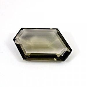 Natural Smoky Quartz 36.15 Cts Fancy Cut 32x18mm Loose Gemstone