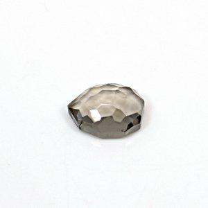 Natural Smoky Quartz 3.80 Cts Fancy Football Cut 12x10mm Loose Gemstone