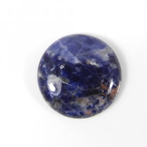 Natural Sodalite 21mm Round Cabochon 16.25 Cts