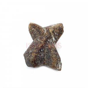 Natural Staurolite 19x13mm Uneven 19.50 Cts