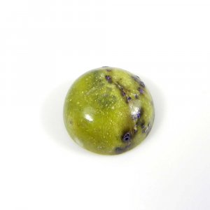 Natural Stichtite 13 mm Round Cabochon 7.60 Cts