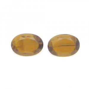 Natural Tiger Eye 14x10mm Oval Cut 5.75 Cts