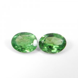Natural Tsavorite 8x6mm Oval Faceted Cut 1.20 Cts