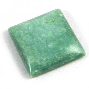Natural Verdite Jasper 16x16mm Square Cabochon 12.6 Cts