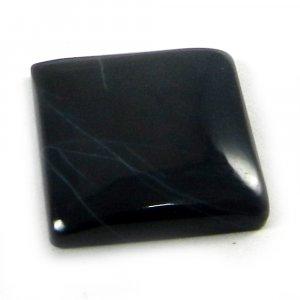 Natural Vivianite Jasper 16x16mm Square Cabochon 10.75 Cts