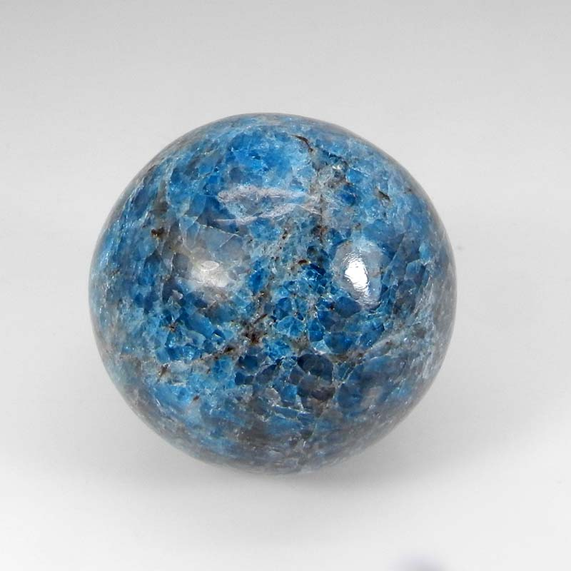 Neon Apatite 40mm Ball Cabochon Free Form 529.00 Cts