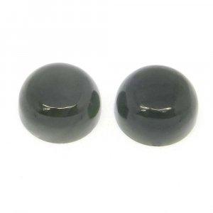 Nephrite Jade 12mm Round Cabochon 8.2 Cts