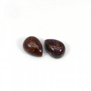 Noreena Jasper 14x10mm Pear Cabochon 7.00 Cts