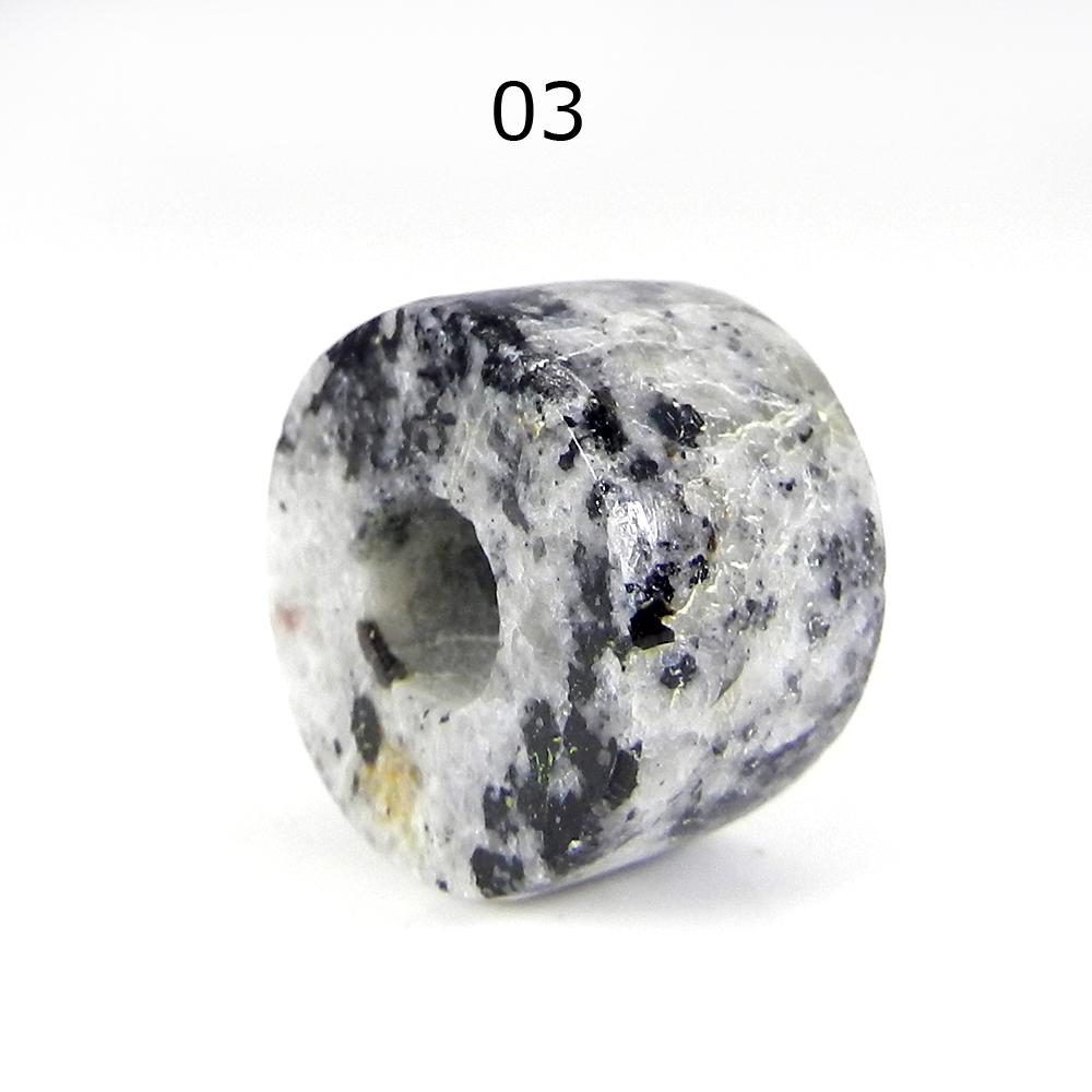 Orbicular Jasper 16x10x5.5mm Roundel Flat Beads