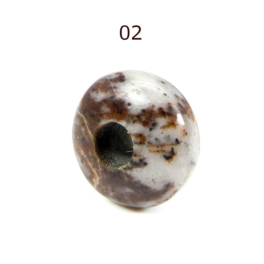 Outback Jasper 14x8x4.5mm Roundel Smooth Beads