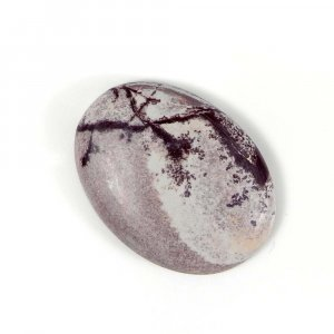 Picasso Jasper 26x19mm Oval Cabochon 17.20 Cts