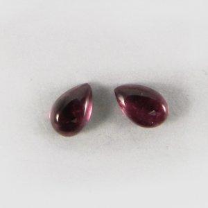 Pink Tourmaline 5.5x4mm Pear Cabochon 0.3 Cts