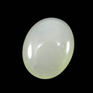 Prehnite Chalcedony 26x21mm Oval Cabochon 44.65 Cts
