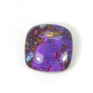 Purple Mohave Turquoise 13x13mm Cushion Cabochon 7.95 Cts