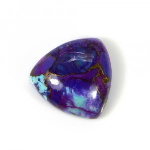 Purple Mohave Turquoise 13x13mm Trillion Cabochon 7.80 Cts