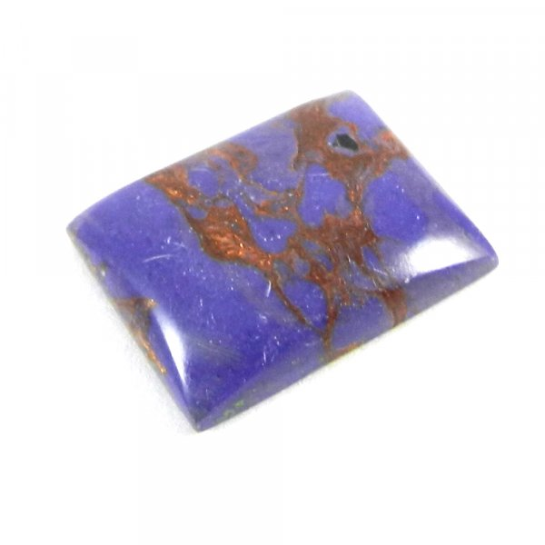 Purple Mohave Turquoise 23x18mm Rectangle Cabochon 19.15 Cts