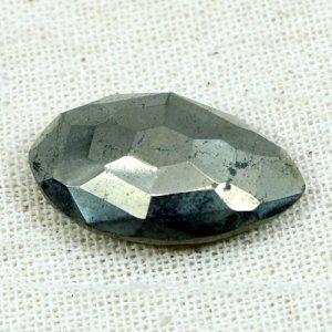 Pyrite 22x13mm Marquise Briolette Cut 20.5 Cts