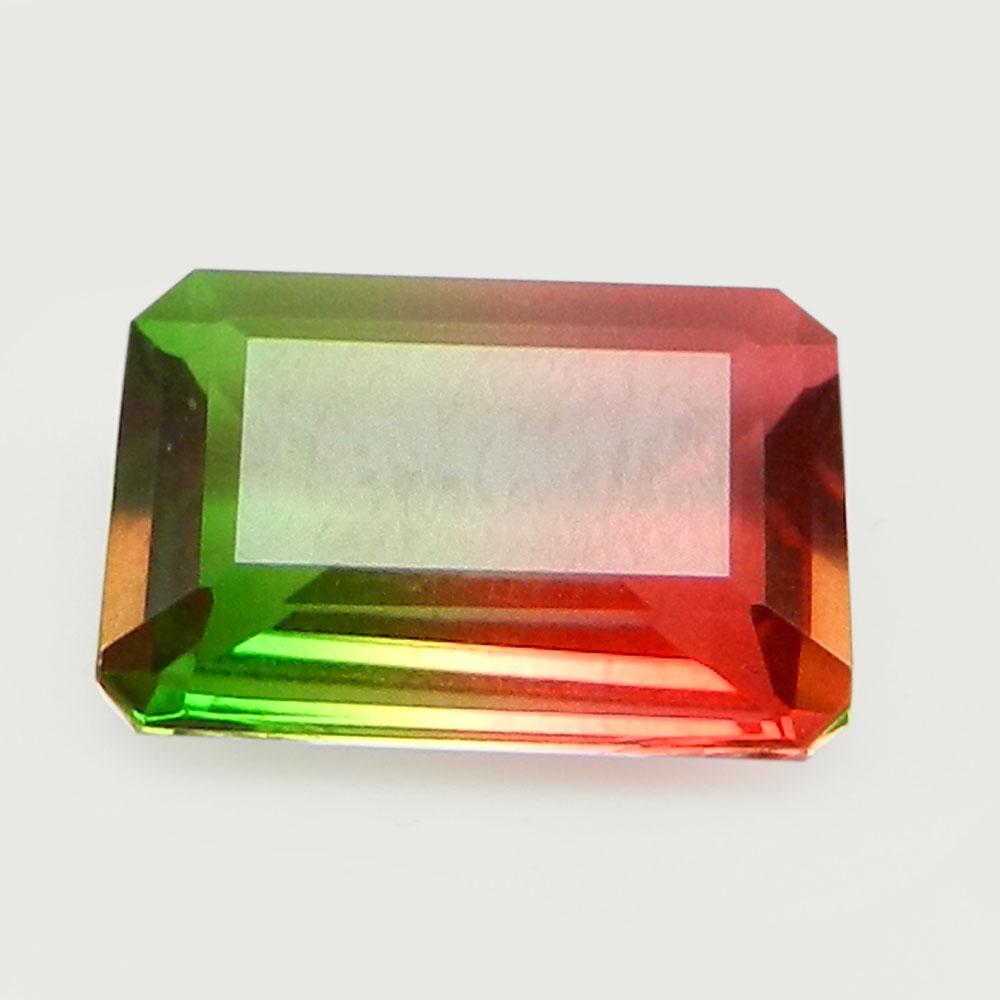 Rainbow Bio Color Doublet 13x9mm Rectangle Cut 4 Cts