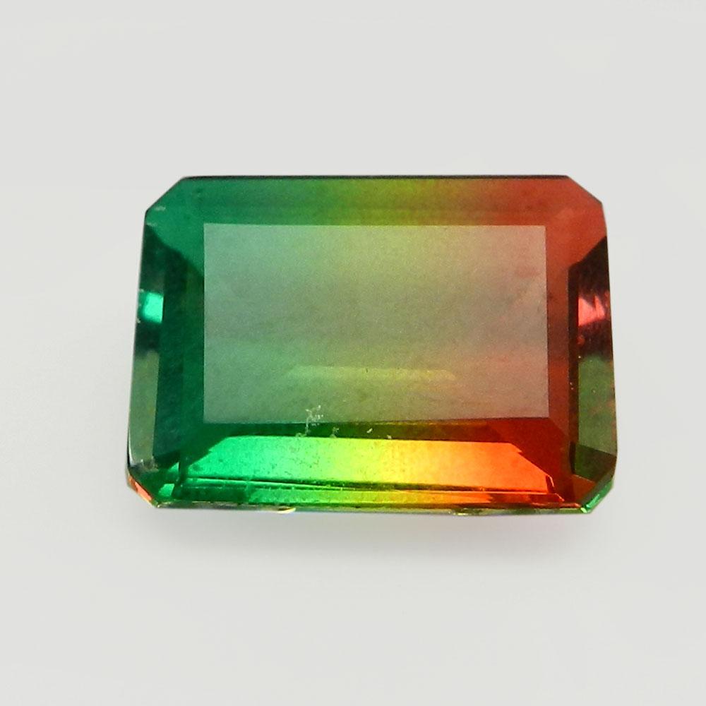 Rainbow Bio Color Doublet 16x12mm Rectangle Cut 9 Cts