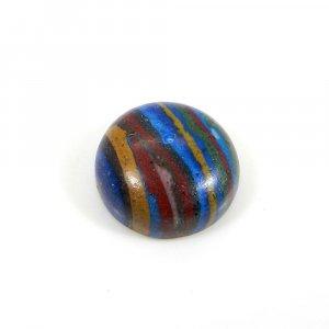 Rainbow Calsilica 13mm Round Cabochon 7.20 Cts