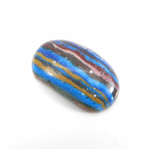 Rainbow Calsilica 24x14mm Oval Cabochon 14.10 Cts